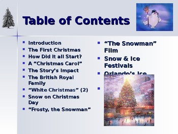 Holidays - Celebrating Christmas Traditions - Why Snow & Ice?