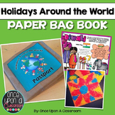 Holidays Around the World- Paper Bag Book with Crafts, Pos