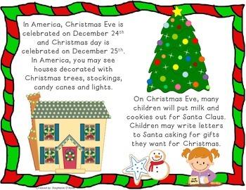 Holidays (Christmas) Around the World