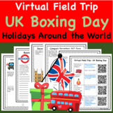Holidays and Christmas Around the World Virtual Field Trip Boxing Day UK