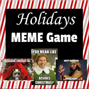 Christmas Holidays Meme.Holidays Christmas Meme Game