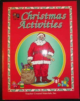 December Holidays Christmas activities + Hanukkah activities winter celebrations