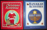 December Holidays Christmas activities + Hanukkah activities winter celebrations