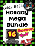 Holidays Digital Cyber Hunt Bundle for Google Slides - Distance Learning