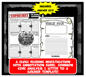 Holidays Exposed! 8 Lesson Plans & Close Readings with Graphic Organizers