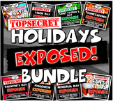 Holidays Exposed! 8 Lesson Plans & Close Readings with Gra