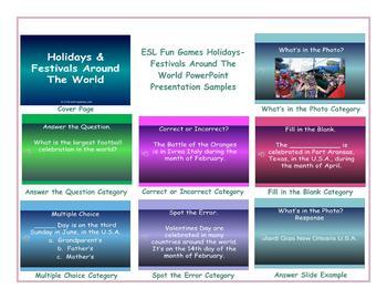 Holidays-Festivals Around The World PowerPoint Presentation