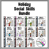 #bundleupwithtpt Social Skills Holiday Bundle Autism