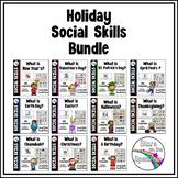 Social Skills Holiday Bundle Autism