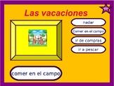 Vacations / Vacation activities / Las vacaciones