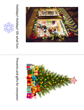 Holidays Interactive Activity- Language Building, Adapted