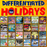 Ever-Growing Holidays Interactive Notebook Readaloud / Reading Super Pack