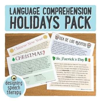 Holidays Through the Year Language Pack