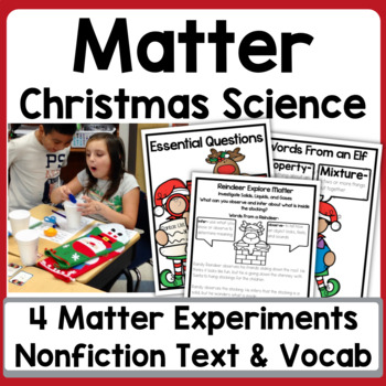 Solids, Liquids, and Gases: A Holiday Investigation {Holid