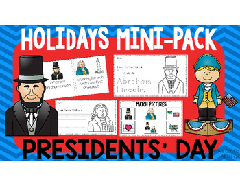 Holidays Mini Pack: Presidents' Day!