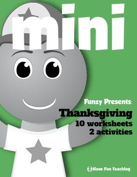 Holidays Mini Pack: Thanksgiving