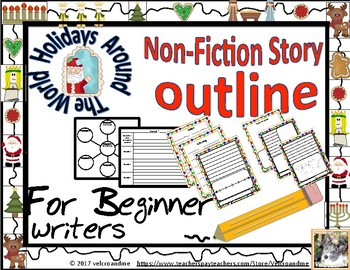 Holidays Non-fiction writing outline for beginner writers