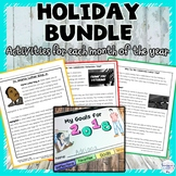 Holidays Monthly Nonfiction Article and Activity