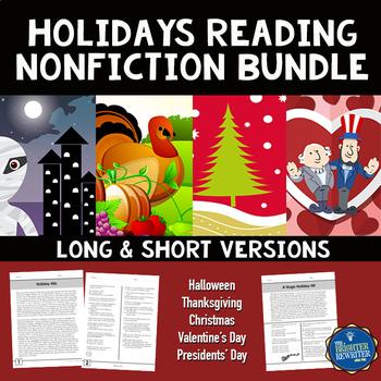 Holidays Nonfiction Passages