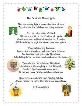 Holidays Poem
