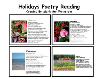 Holidays Poetry Reading