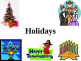 Holidays Powerpoint (K-4)