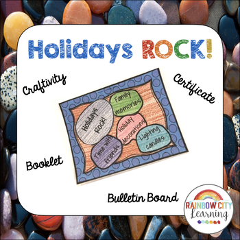 Holidays Rock Rock Garden Craftivity