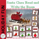 Holidays: Read the Room Activity:  Santa Clues for K-1