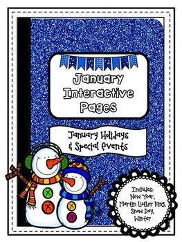January {Winter} - Holidays  Interactive Notebook {Upper G