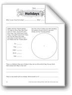 Holidays (Thinking Skills)