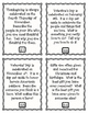 Holidays Throughout the Year Mix Pair Share Discussion Cards