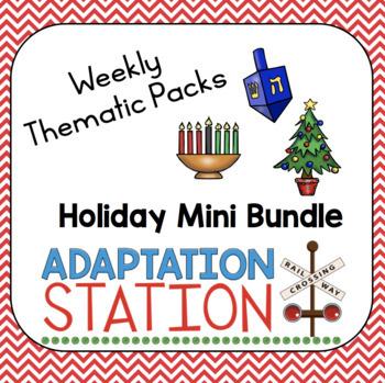 Holidays Weekly Pack Mini Bundle