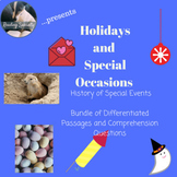 Holidays and Special Events--History of Special Occasions