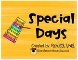 Holidays and Basic Calendar Set