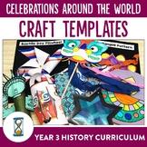 Celebrations Around the World Craft Templates