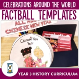 Celebrations Around the World Factballs Craftivity and Fact Sheets