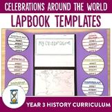 Celebrations Around the World Lapbook Activities