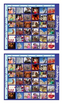 Holidays and Festivals Around the World Battleship Board Game