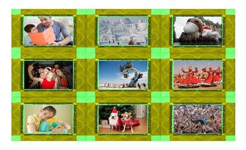 Holidays and Festivals Around the World Spanish Legal Size Photo Card Game