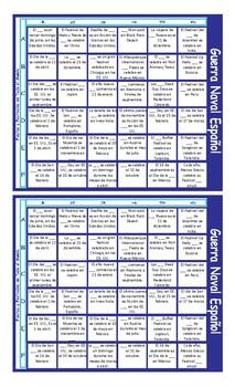 Holidays and Festivals Spanish Battleship Board Game