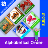 Holidays and Seasons Alphabetical Order BUNDLE Grades 1-2