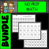Holidays and Seasons NO PREP Math Kindergarten/First Grade