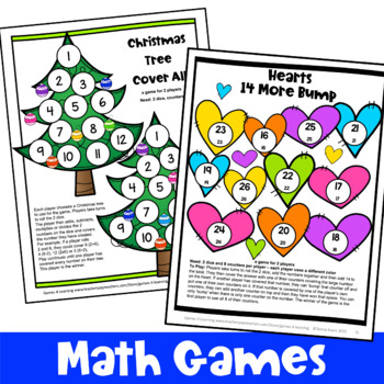 Holiday Math Bundle: Thanksgiving Math Activities, Christmas Math Activities etc