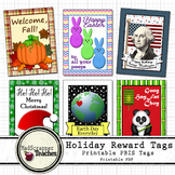 Holidays and Special Occasion Brag Tags Printable Brag Tags