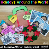 Holidays around the World - all inclusive unit - journal, powerpoint, crafts