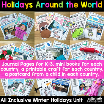 Holidays around the World : Christmas around the world journal crafts powerpoint