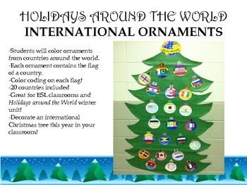 holidays around the world christmas ornaments - Christmas Around The World Decorations