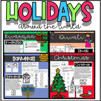 Holidays around the world- 4 holiday pack