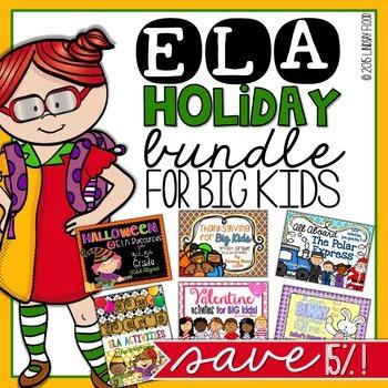 Holidays for BIG KIDS Bundle {ELA}