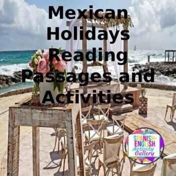 Holidays for the  Beginning Spanish Classroom